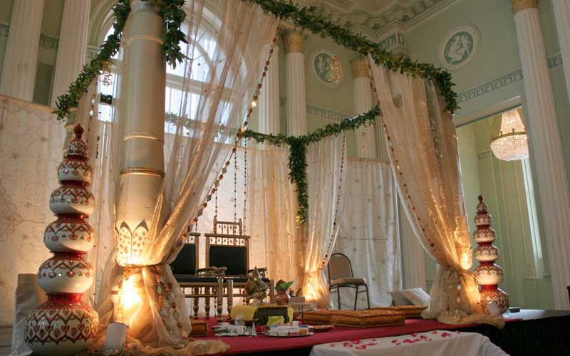 elegant indian wedding decor